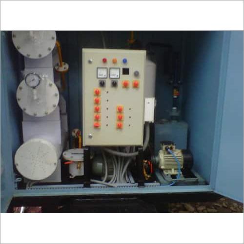 NAS Oil Filtration Machine on Rent