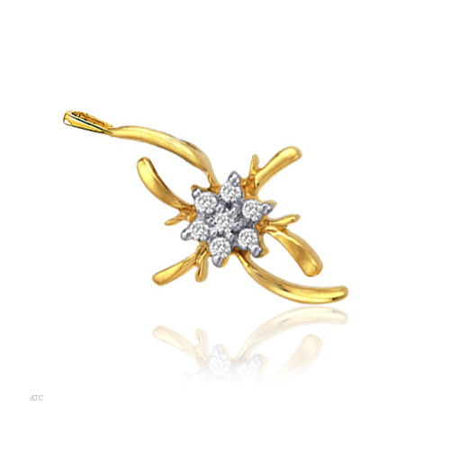 Avsar Real Gold and Diamond Fashion Pendant # AVP020