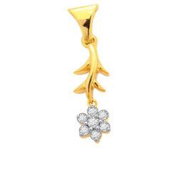 Avsar Real Gold and Diamond Fancy Pendants # AVP024