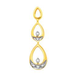 Avsar Real Gold and Diamond Fancy Pendants # AVP026