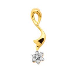 Avsar Real Gold and Diamond Fancy Pendants # AVP036