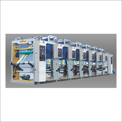 8 Colour Rotogravure High Speed Machine