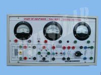 Study of Half Wave/Full wave & Bridge Rectifier Apparatus