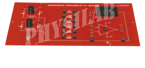 STUDY OF INSTRUMENTS OPERATIONAL AMPLIFIER IC-741 WITH DIGITAL PANEL METERS