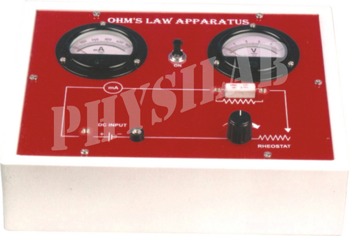 OHM'S LAW APPARATUS
