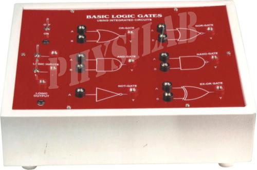 BASIC LOGIC GATE 3 Using TTL IC's (7 & in ONE)