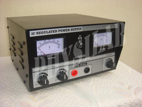 IC REGULATED POWER SUPPLY 0-30 V - 2 Amp.