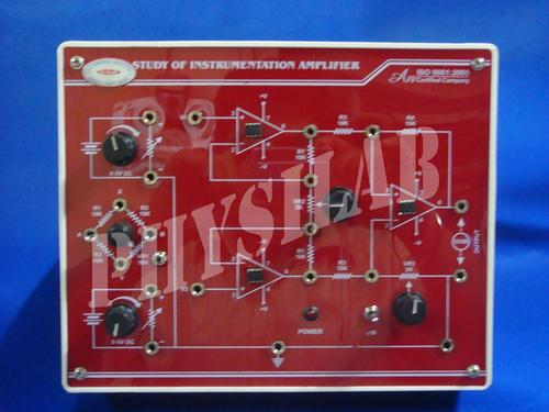 Study of Instrumentation Amplifier