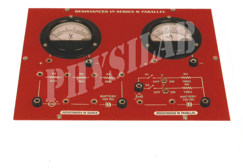 Resistances Series And Parallel Apparatus