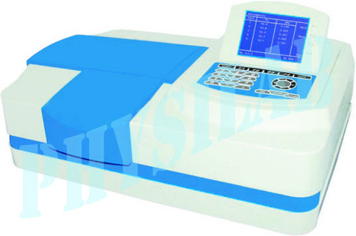 MICROPROCESSOR UV-VIS SPECTROPHOTOMETER(Double Beam)