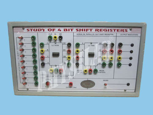 Study of Left,Right & Programmable Shift Register