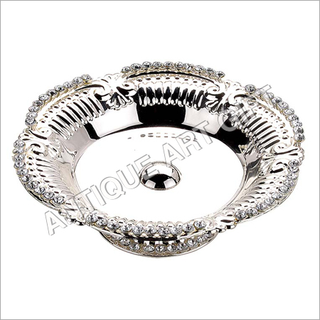 Designer Silver Plated Fruit Bowl