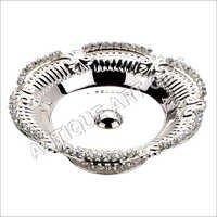 Designer Silver Plated Fruit Bowl