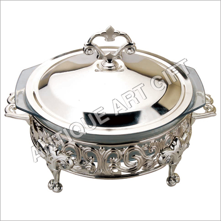 Silver Plated Hot Food Serving