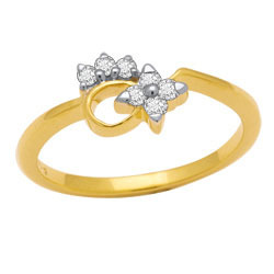 Avsar Real Gold and Diamond  Fashion Ring # AVR017