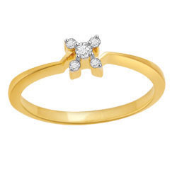 Avsar Real Gold and Diamond Fancy Ring # AVR019