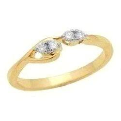 Avsar Real Gold and Diamond Fancy Ring # AVR020