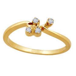 Avsar Real Gold and Diamond Fashion Ring # AVR021