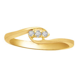 Avsar Real Gold and Diamond Fancy Ring # AVR022