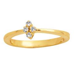 Avsar Real Gold and Diamond Fancy Ring # AVR023