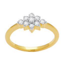 Avsar Real Gold and Diamond Fashion Ring # AVR028