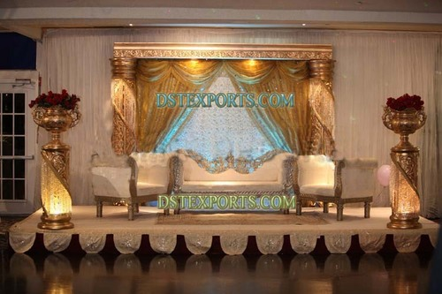Arabian Wedding Stage Set