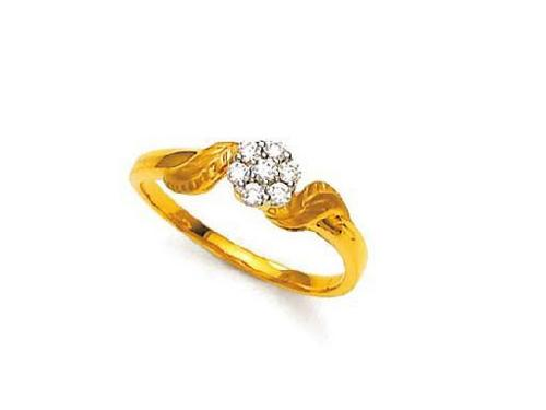 Avsar Real Gold and Diamond fashion Ring # AVR038