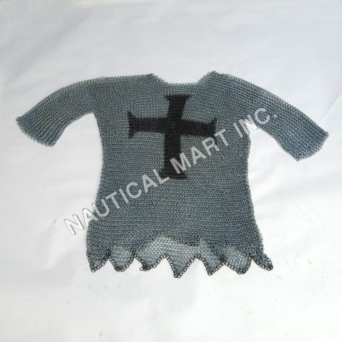 Grey Templar Chain mail