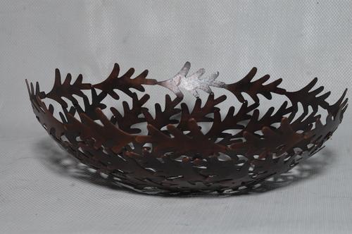 Iron Leaf Bowl