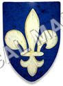 The Fleur De Lisca Shield