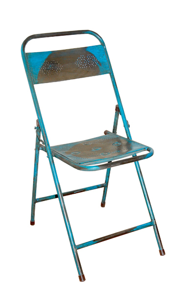 Iron Folding Chair