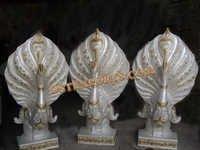 Wedding Aisleway Peacock Statues