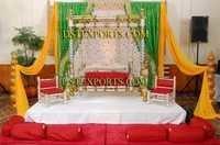 INDIAN WEDDING MEENAKARI JHULA