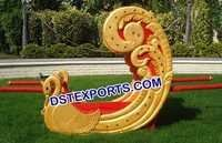 Indian Wedding Golden Swan Doli
