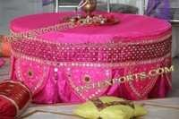 Indian Wedding Embroidered Table Clothes