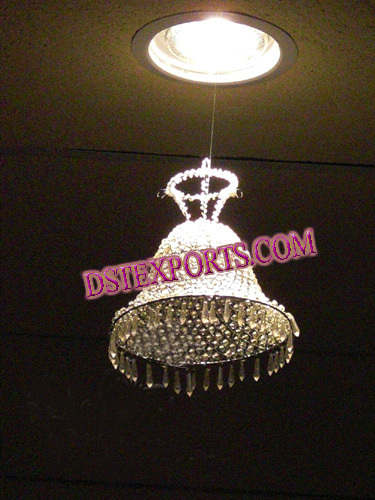Wedding Decoration Crystal Bell