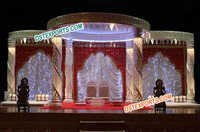 Fiber Crystal Mandap For Decoration