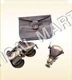 Brass Binoculars with Bag