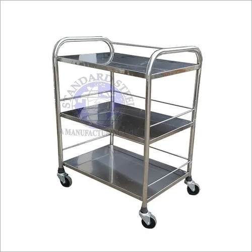 instrument Trolley 3 Shelve