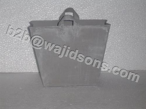 COLORED METAL FLORIST BAG