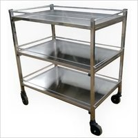3 Shelve Instrument Trolley