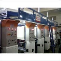 Rotogravure Printing Machine with InlineLamination