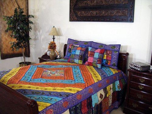 Kantha Bedsheets
