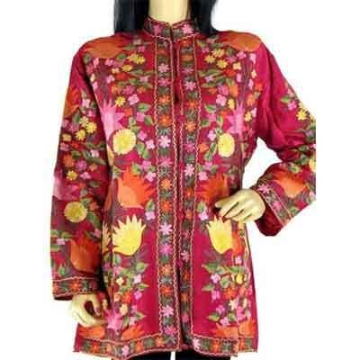 Silken Embroidery Jackets