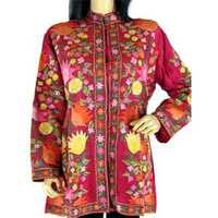 Silken Embroidery Jackets