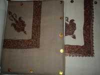 Needle Work Border Shawls