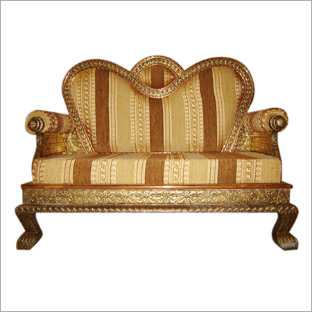 Brass & Copper Sofa