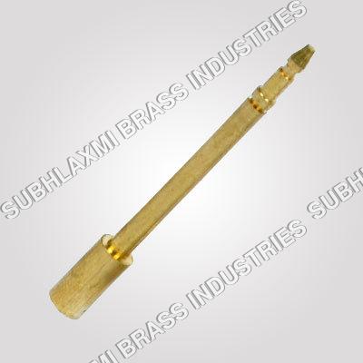 Brass Horn Pin