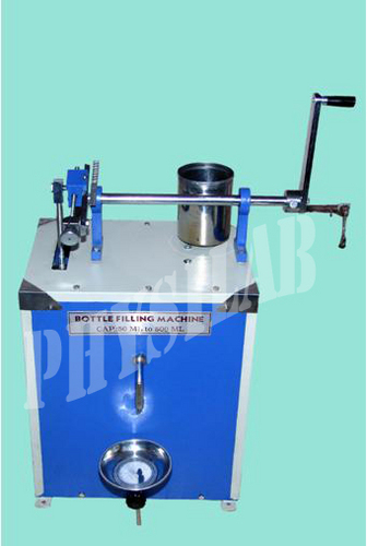 Hand Operated Bottle Filling Machine
