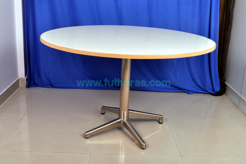 Folding  Dining Table with round top